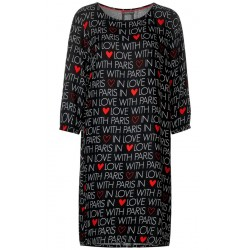 Kleid mit Lettering by Street One