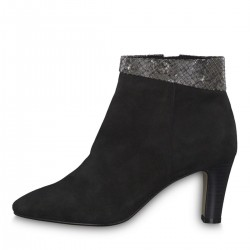 Leather ankle boot by Tamaris