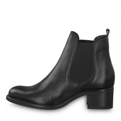 Leather Chelsea boot by Tamaris