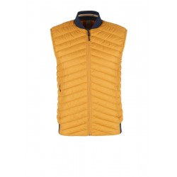 Quilted body warmer with a light down finish by s.Oliver Black Label