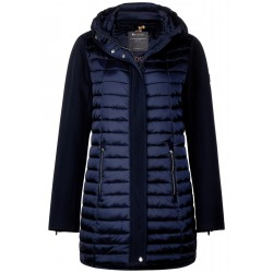 Padded long jacket by Street One