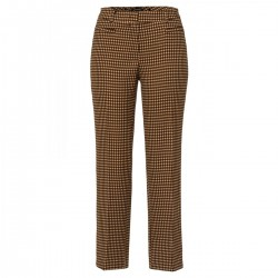 Graphic Jacquard Pants by More & More