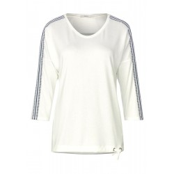 Shirt with pattern mix stripes by Cecil