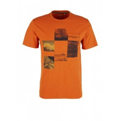Jerseyshirt mit Frontprint by s.Oliver Red Label