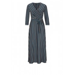 Dress with sparkly stripes by s.Oliver Black Label