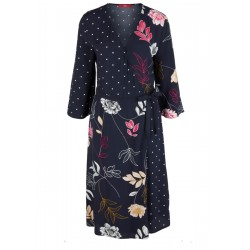 Mixed pattern wrap dress by s.Oliver Red Label