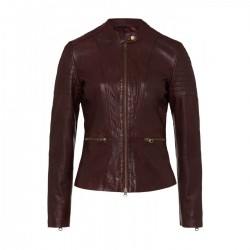 Leather jacket by More & More