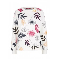 Sweatshirt with a floral print by s.Oliver Red Label