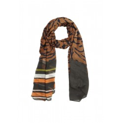 Woven scarf in a mix of patterns by s.Oliver Black Label