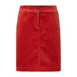 Flared corduroy skirt by Tom Tailor