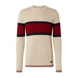 Striped knitted pullover by Tom Tailor Denim