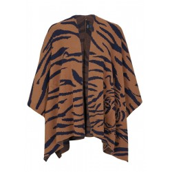 Poncho in a tiger design by s.Oliver Black Label