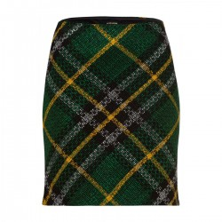 Maxi Check Skirt by More & More