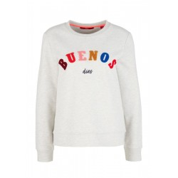 Sweatshirt with application by s.Oliver Red Label