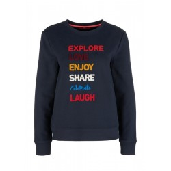 Sweatshirt mit Applikation by s.Oliver Red Label