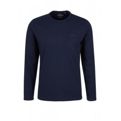 Basic-Langarmshirt aus Jersey by s.Oliver Red Label