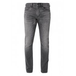 Close Slim: Graue Stretchjeans by s.Oliver Red Label