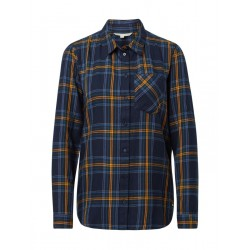 Checked shirt with chest pocket by Tom Tailor Denim