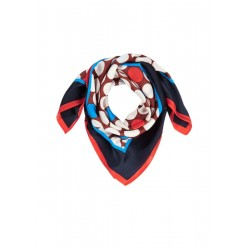 Delicate scarf with a printed pattern by s.Oliver Black Label