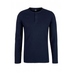 Slim: Longsleeve mit Knopfleiste by s.Oliver Red Label