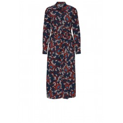 Shirt dress with an animal pattern by s.Oliver Black Label