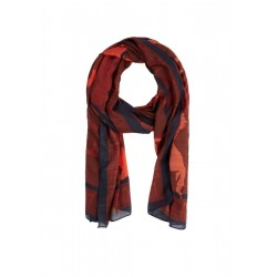 Delicate scarf with animal motif by s.Oliver Black Label