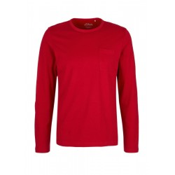 Basic long sleeve top made of jersey by s.Oliver Red Label
