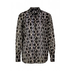 Patterned blouse by Comma