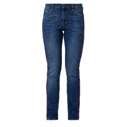 Shape Slim: jeans with tuxedo stripes by s.Oliver Red Label