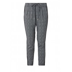 Tracksuit bottoms with Prince of Wales checks by s.Oliver Red Label