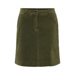 Mini skirt in stretchy velvet fabric by Marc O'Polo
