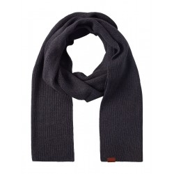 Knitted shawl in ribbed structure by Tom Tailor