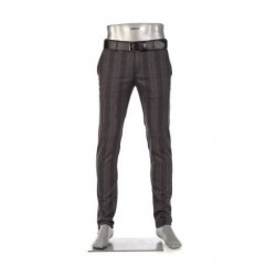 Slim fit chino ROB - Classic Check by Alberto Jeans