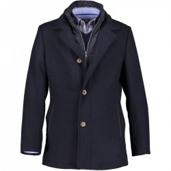 Coat with lapel collar by State of Art