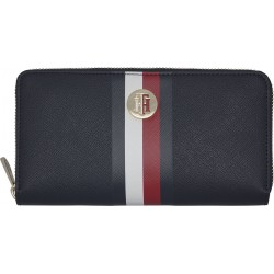 Large signature tape wallet by Tommy Hilfiger