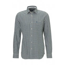 Regular long-sleeve shirt In a cosy cotton fabric by Marc O'Polo