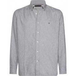 Regular Fit flannel dot print shirt by Tommy Hilfiger