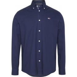 Cotton twill tape shirt by Tommy Jeans