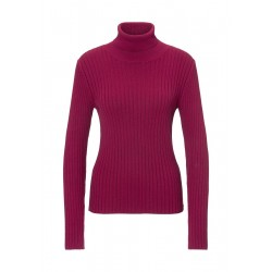 Turtleneck jumper made of pure organic cotton by Marc O'Polo