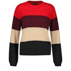 Pullover in Colourblocking-Design by Taifun