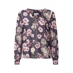 Top with rose pattern by Rich & Royal
