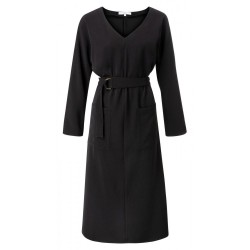 Belted dress with pockets by Yaya