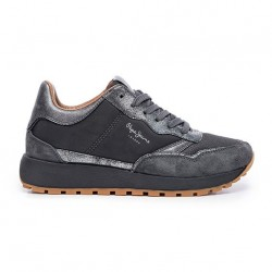 Sneaker aus Stoffmix by Pepe Jeans London