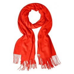 Cuddly scarf with fringes by Street One