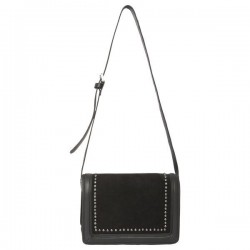 Leather shoulder bag by Pepe Jeans London