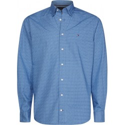 Regular Fit abstract micro print shirt by Tommy Hilfiger