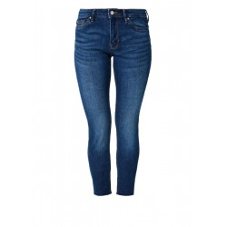 Shape Superskinny: jeans with frayed hems by s.Oliver Red Label