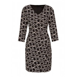 Patterned dress by Comma