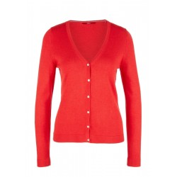 Klassischer Feinstrick-Cardigan by s.Oliver Red Label