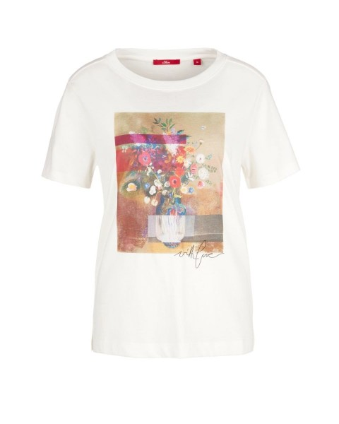 Printed shirt by s.Oliver Red Label